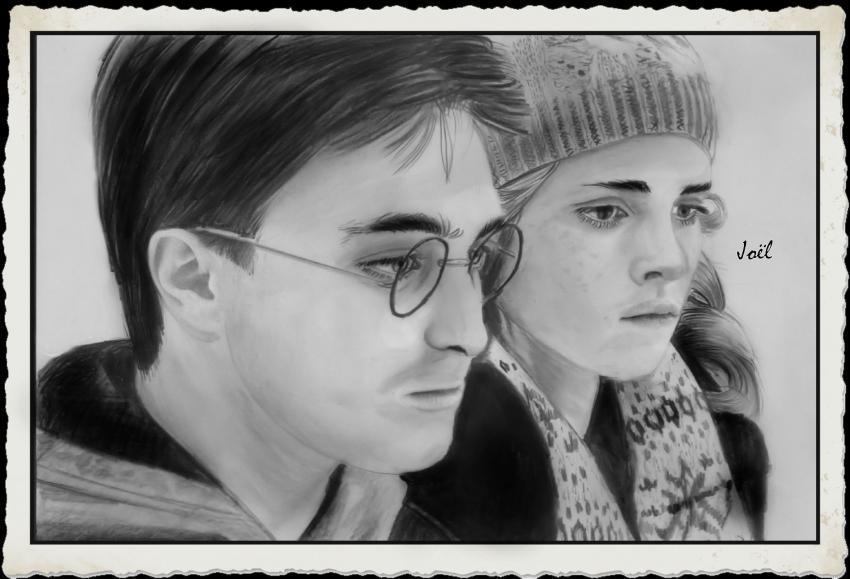 Daniel Radcliffe, Emma Watson par klk68